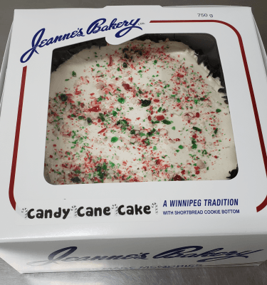 Candy Cane Cake | Jeannes Bakery